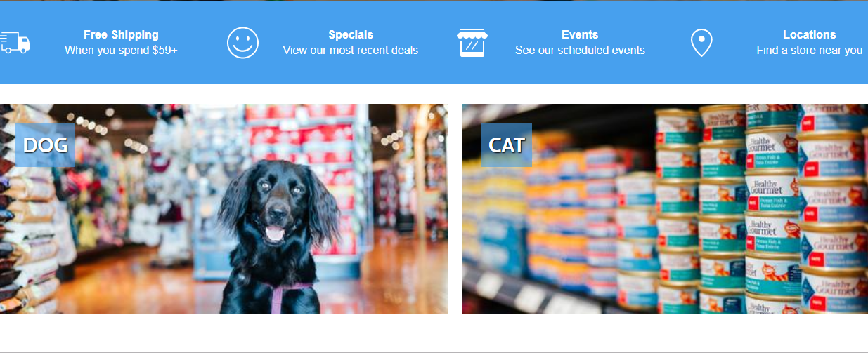 website Concord Pet Foods