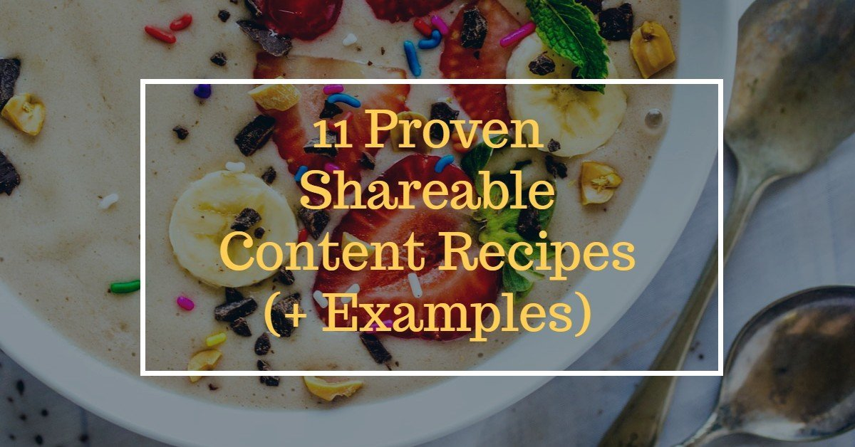 shareable social media content