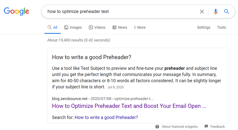 freelance-SEO-copywriter-featured-snippet-example
